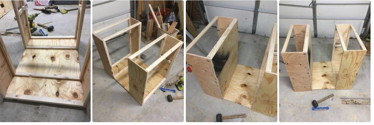 Делаем столярный стол-шкаф | 3