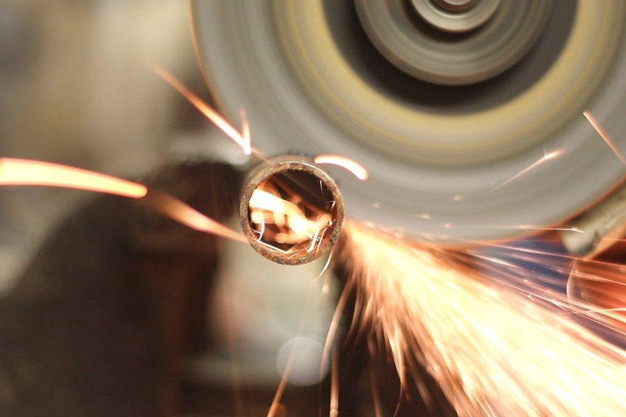 Реставрация ржавого напильника и изготовление ручки с применением электротравления | 4