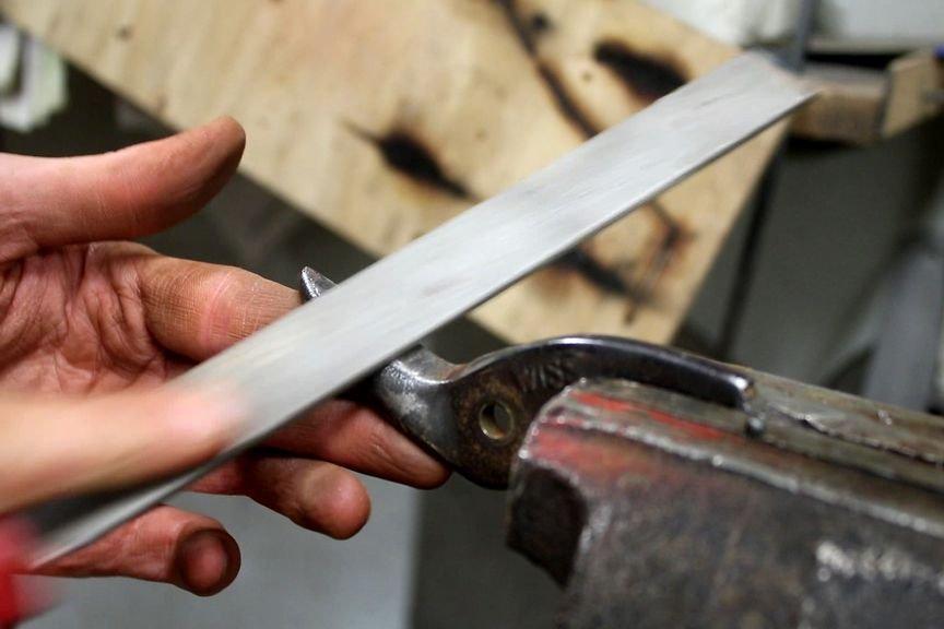 Реанимация старых ножниц по металлу | 3