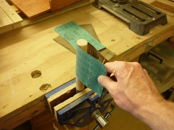 Делаем скребок для удаления краски с изогнутых поверхностей | 6