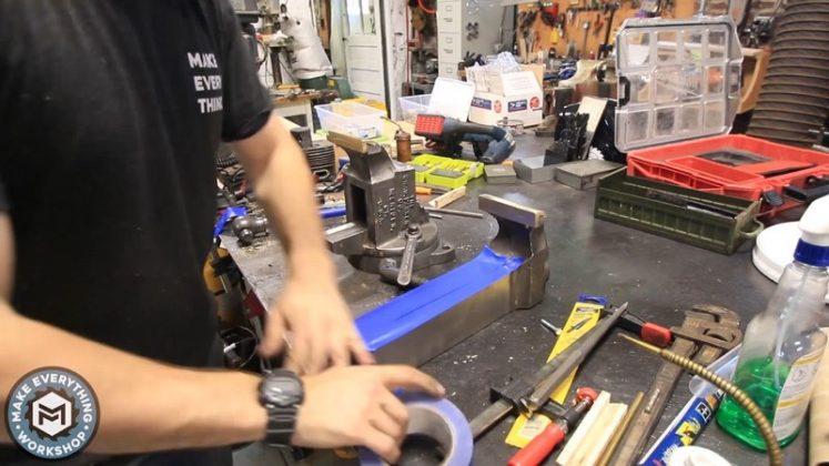 Реставрация столетних тисков своими руками | 88