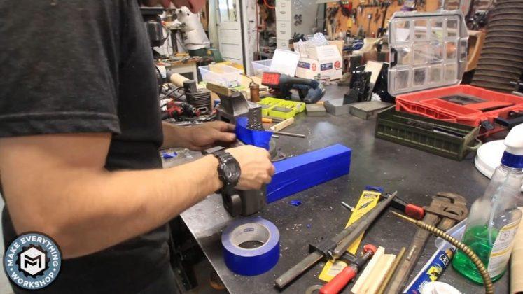 Реставрация столетних тисков своими руками - 86