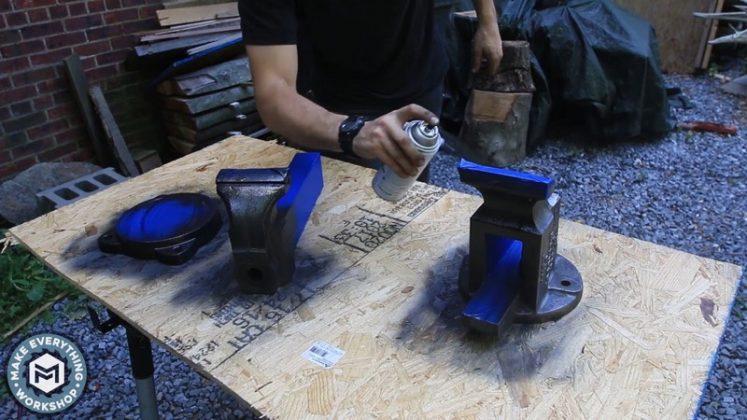 Реставрация столетних тисков своими руками - 89