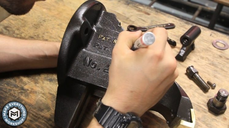 Реставрация столетних тисков своими руками - 101