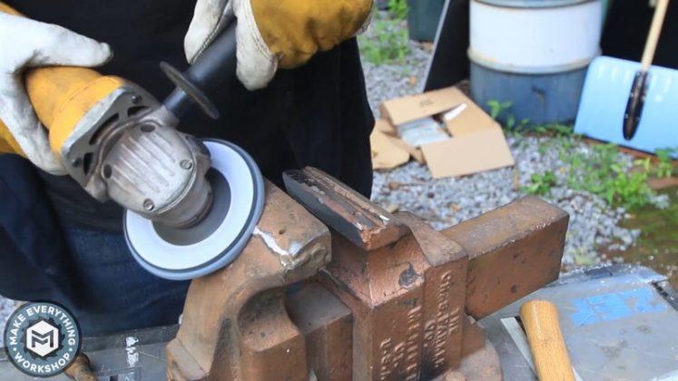 Реставрация столетних тисков своими руками - 11