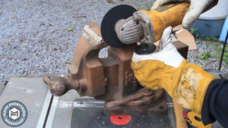 Реставрация столетних тисков своими руками - 12