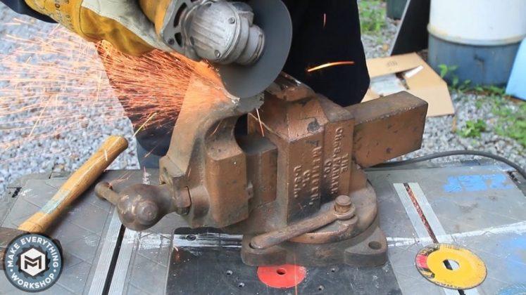 Реставрация столетних тисков своими руками - 13