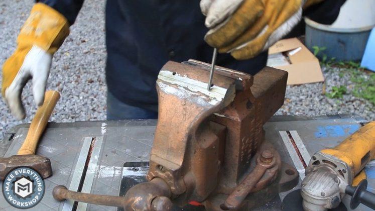 Реставрация столетних тисков своими руками - 14