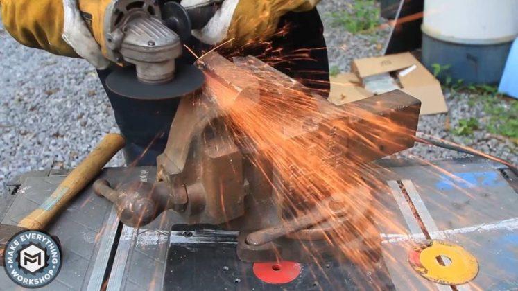 Реставрация столетних тисков своими руками - 15
