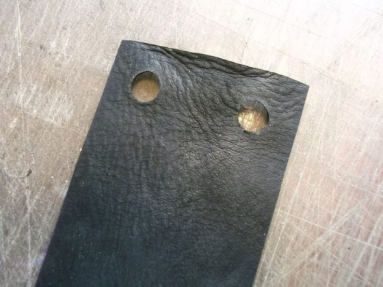 Делаем новую обмотку рукояти для старого ножа - 15