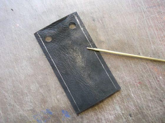 Делаем новую обмотку рукояти для старого ножа - 16