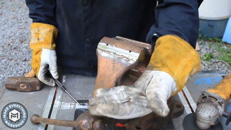 Реставрация столетних тисков своими руками - 17