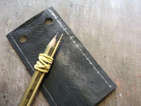 Делаем новую обмотку рукояти для старого ножа - 18