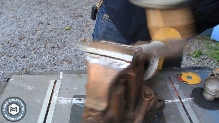 Реставрация столетних тисков своими руками | 19