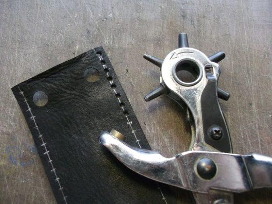 Делаем новую обмотку рукояти для старого ножа - 19