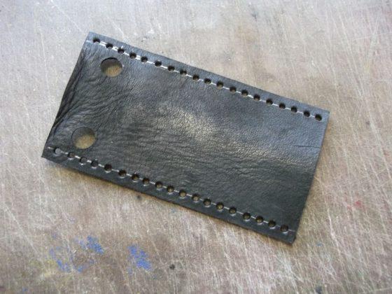 Делаем новую обмотку рукояти для старого ножа - 20