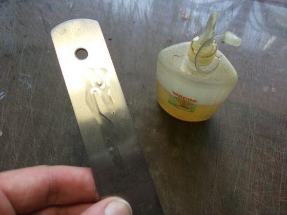 Делаем новую обмотку рукояти для старого ножа - 22