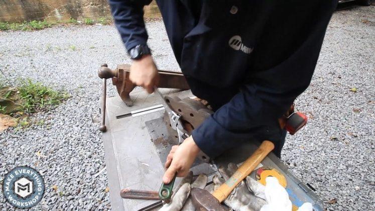 Реставрация столетних тисков своими руками | 23