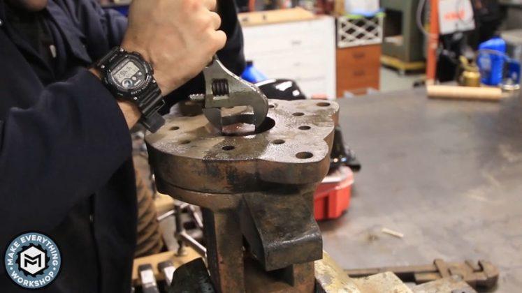 Реставрация столетних тисков своими руками | 25