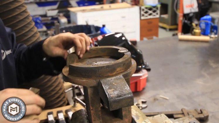 Реставрация столетних тисков своими руками - 26