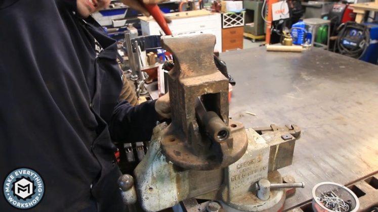 Реставрация столетних тисков своими руками - 27