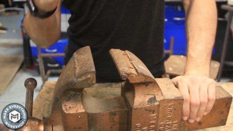 Реставрация столетних тисков своими руками | 2