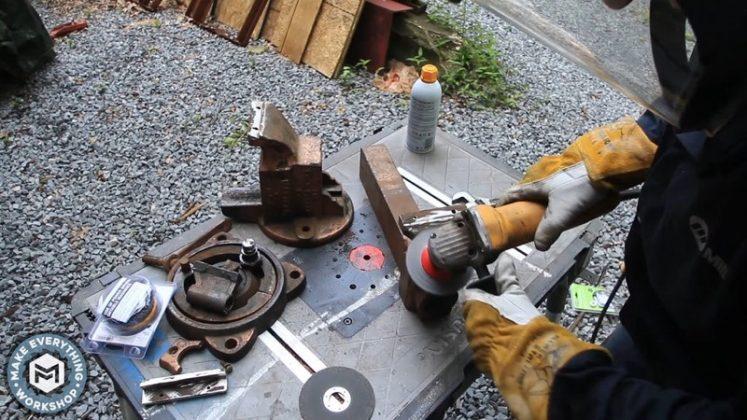 Реставрация столетних тисков своими руками | 29