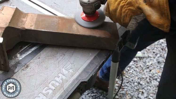 Реставрация столетних тисков своими руками - 30