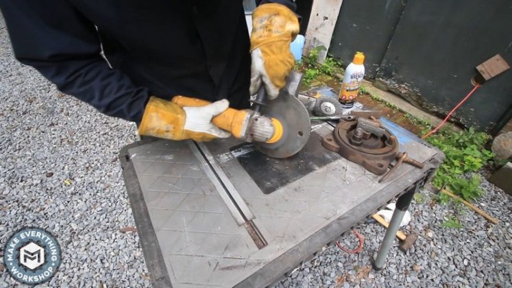 Реставрация столетних тисков своими руками | 32