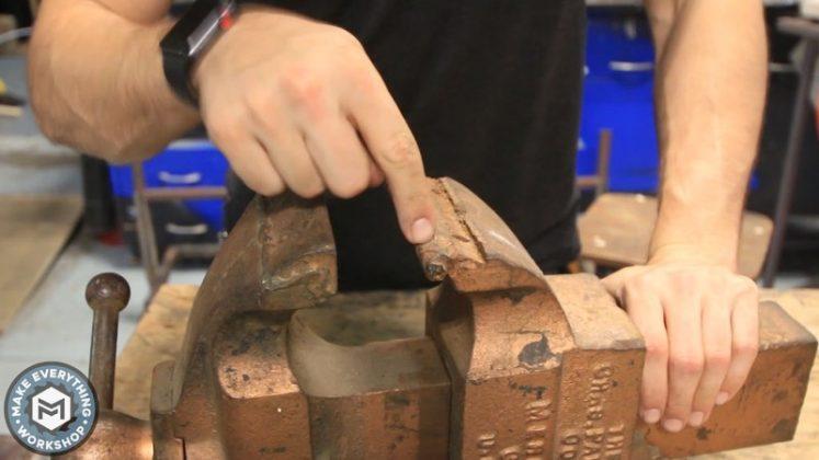 Реставрация столетних тисков своими руками - 3