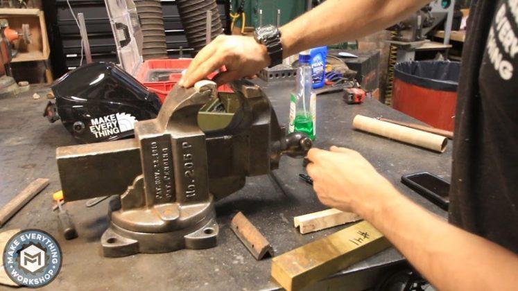 Реставрация столетних тисков своими руками - 43