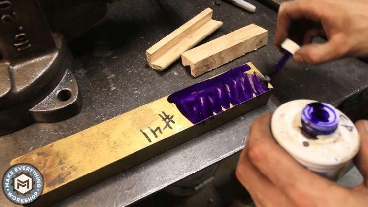 Реставрация столетних тисков своими руками | 44