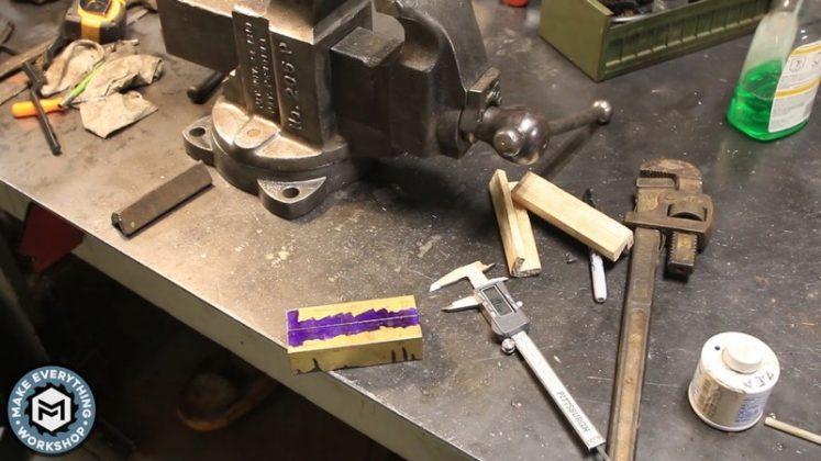 Реставрация столетних тисков своими руками | 53