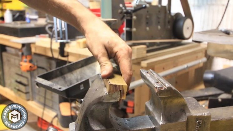 Реставрация столетних тисков своими руками | 58