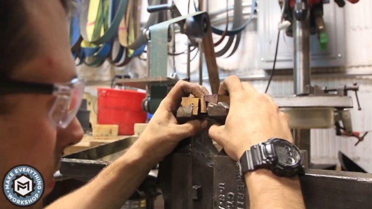 Реставрация столетних тисков своими руками - 59