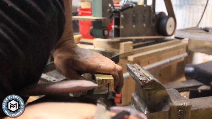 Реставрация столетних тисков своими руками | 60