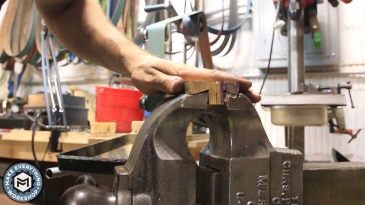 Реставрация столетних тисков своими руками | 61