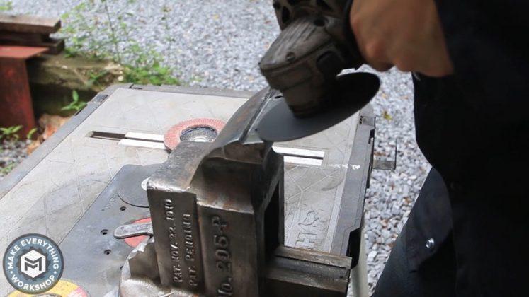 Реставрация столетних тисков своими руками | 66