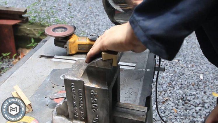Реставрация столетних тисков своими руками | 67