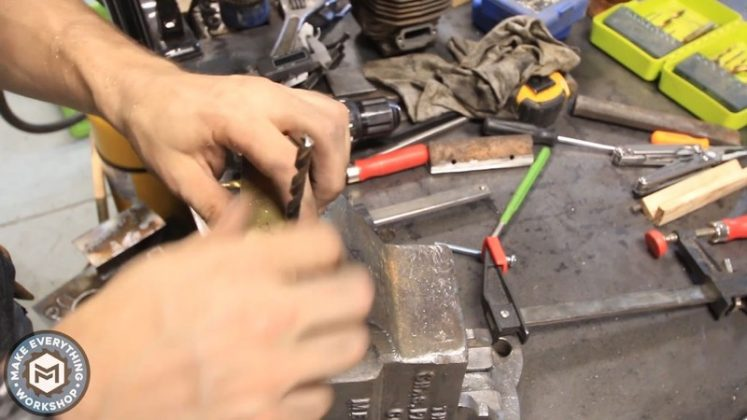 Реставрация столетних тисков своими руками | 73
