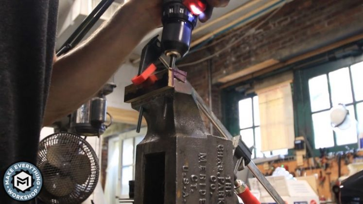 Реставрация столетних тисков своими руками - 77
