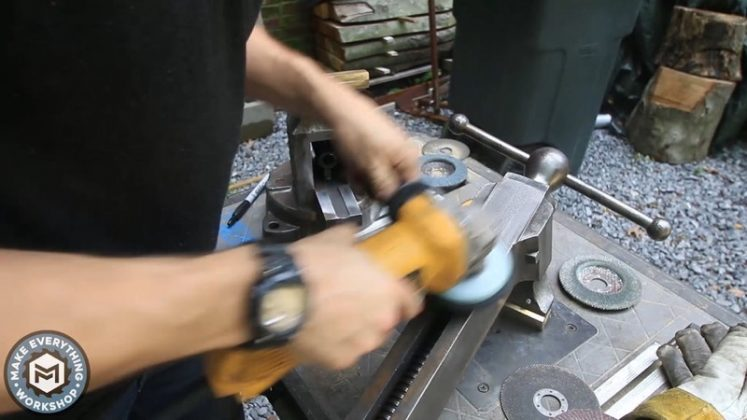 Реставрация столетних тисков своими руками - 80