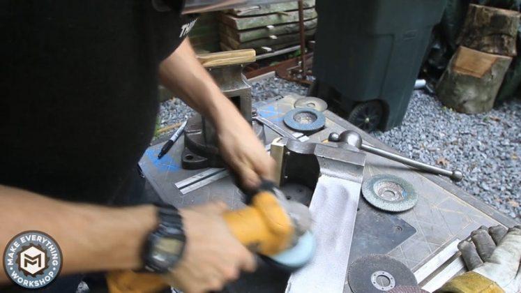 Реставрация столетних тисков своими руками - 81