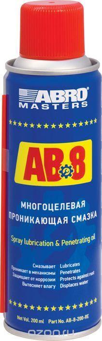 Смазка многоцелевая Abro, проникающая, 200 мл