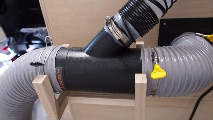 Как сделать пылесборник для фрезерного стола своими руками | 5