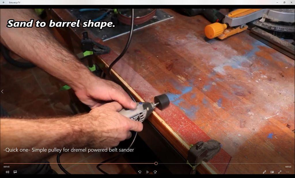 Как сделать блочную систему для ленточной шлифовальной машины - 8