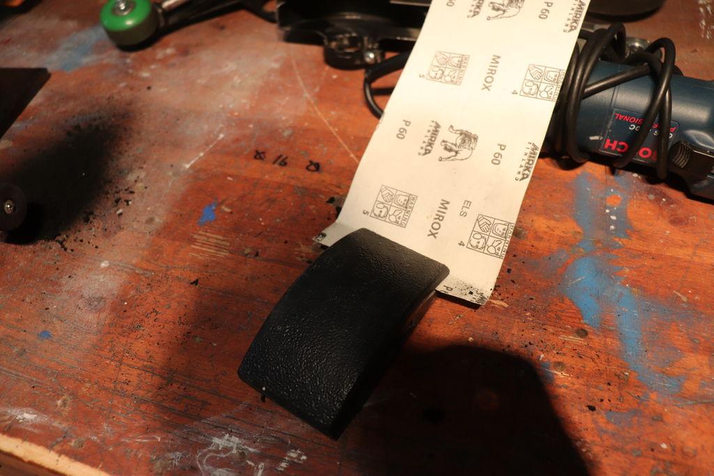 Как сделать блочную систему для ленточной шлифовальной машины | 10