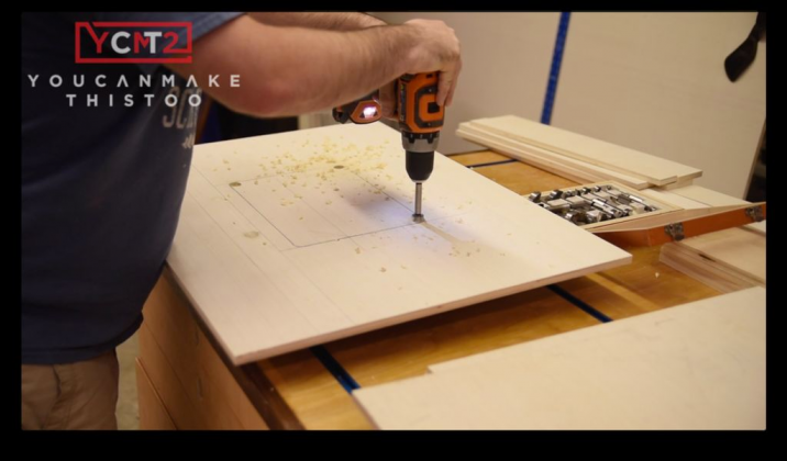 Как самому сделать фрезерный стол | 4