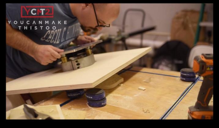 Как самому сделать фрезерный стол - 5