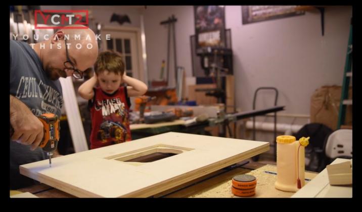 Как самому сделать фрезерный стол - 10